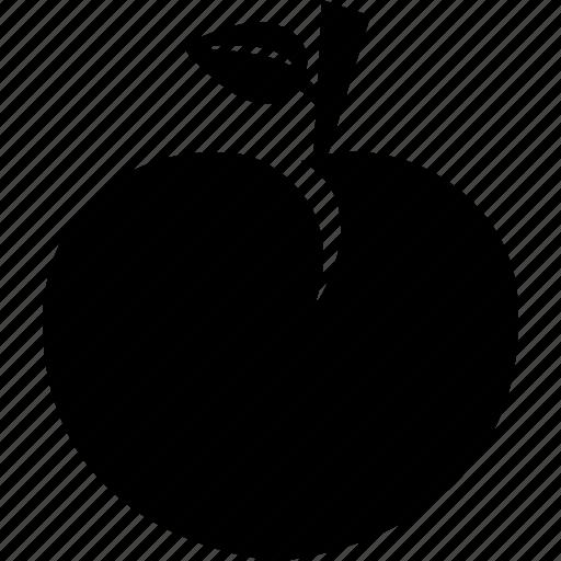 Sweet, fruit, peach, food, healthy, fresh icon