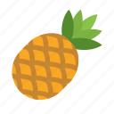 food, fruit, pineapple icon