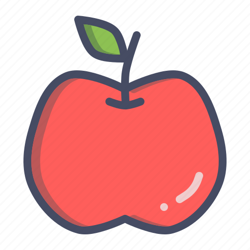 apple, carbohydrate, carbs, fruit, healthy, starch icon