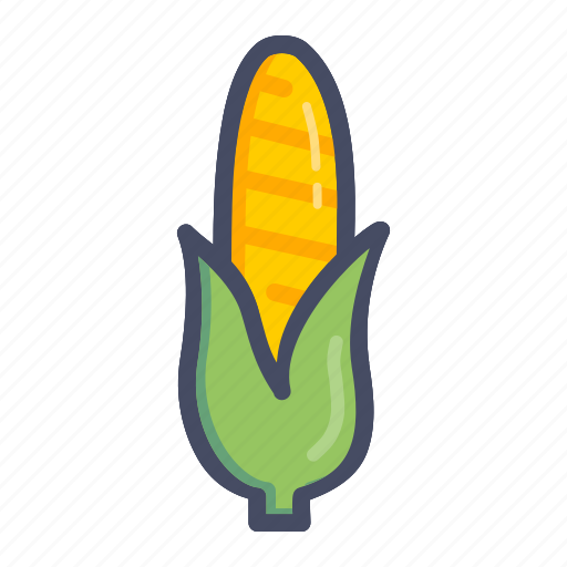american, corn, food, grain, maize, sweet, vegetable icon