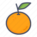 citrus, fruit, healthy, orange icon