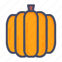halloween, pumpkin, vegetable icon