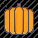 halloween, pumpkin, vegetable
