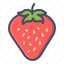 strawberry, fruit, berry