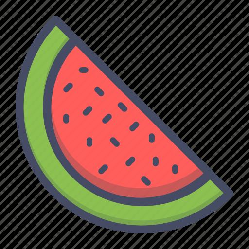 fruit, juicy, melon, water, watermelon icon