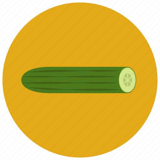 cucumber, food, organic, vegetable icon