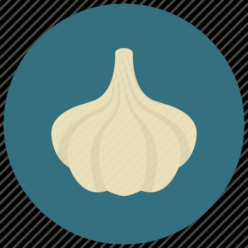 food, garlic, organic, vegetable icon