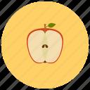 apple, food, fruit, organic