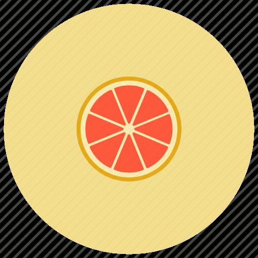 food, fruit, grapefruit, organic icon
