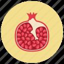 food, fruit, grenadine, organic icon