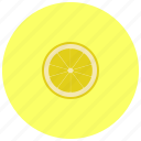 food, fruit, lemon, organic icon