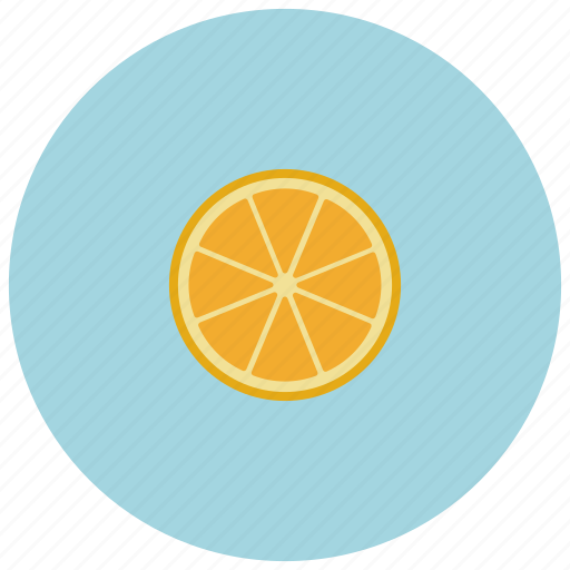 food, fruit, orange, organic icon