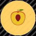 food, fruits, organic, peach