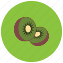 food, fruit, kiwi, organic icon