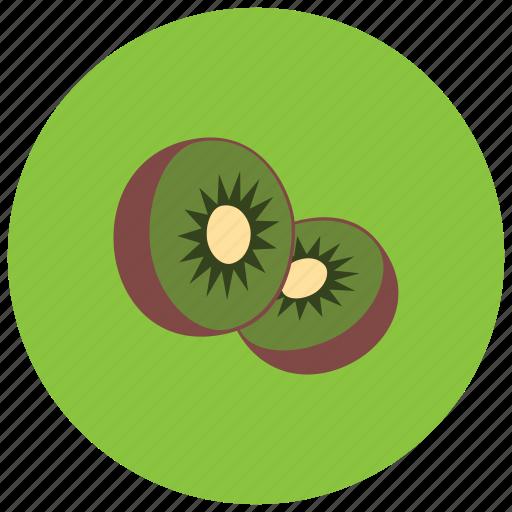 food, fruit, kiwi, organic icon