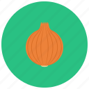 food, meal, onion, organic, vegetable icon