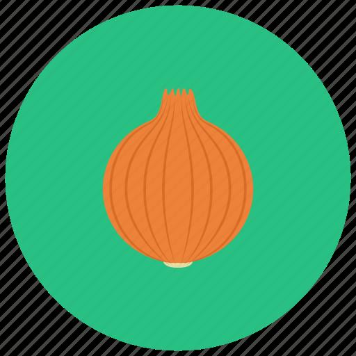 food, meal, onion, organic, vegetable icon