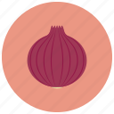 food, onion, organic, vegetable icon