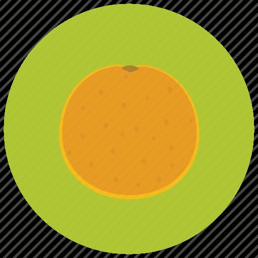 food, fruits, orange, organic icon