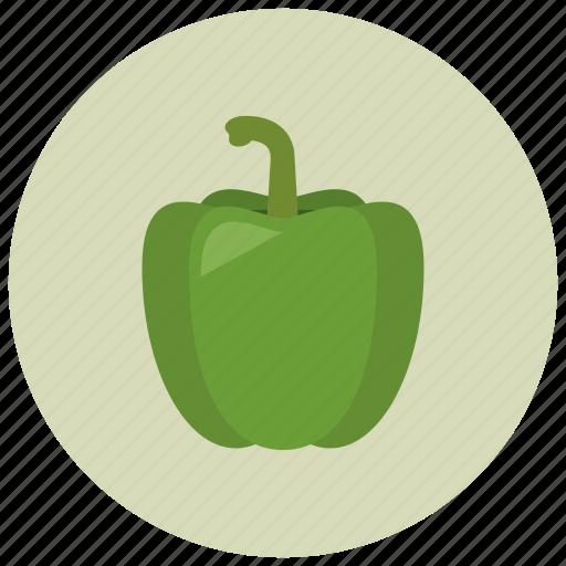 food, organic, paprika, vegetable icon