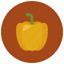 food, organic, paprika, vegetable icon