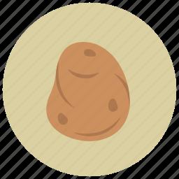 food, organic, potato, vegetable icon