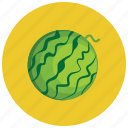 fruit, organic, vegetable, watermelon icon