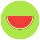 food, organic, vegetable, watermelon icon