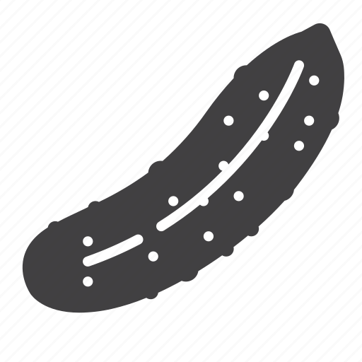cucumber, vegetable icon