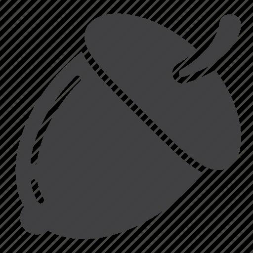 acorn, nut icon