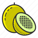 dessert, food, fruit, healthy, passion fruit, relaxing, tropical fruit icon