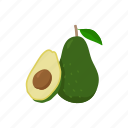 alligator pear, avocado, dessert, food, fruit, plant, shake icon