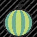 cantaloupe, fruit, melon, watermelon icon