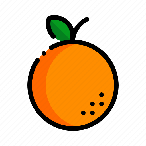 fresh, fruit, fruits, natural, orange icon