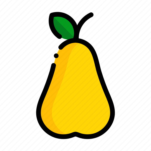 fresh, fruit, fruits, natural, pear icon