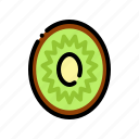 fresh, fruit, fruits, kiwi, natural icon