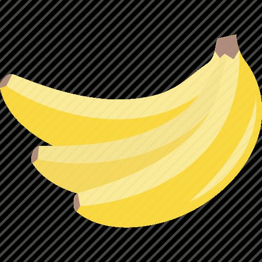 banana, bananas, bunch, fruit icon