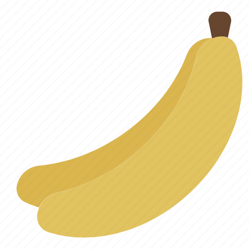 banana, food, fruit, healthy, organic icon