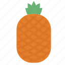 food, fruit, healthy, organic, pineapple icon