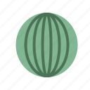 food, fruit, healthy, organic, watermelon icon