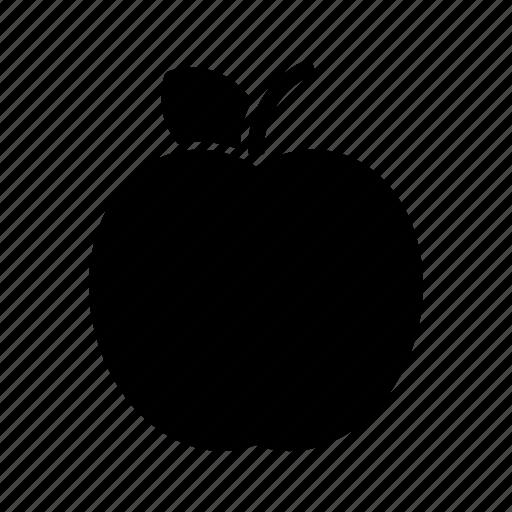 apple, fresh, fruit, fruits, natural icon