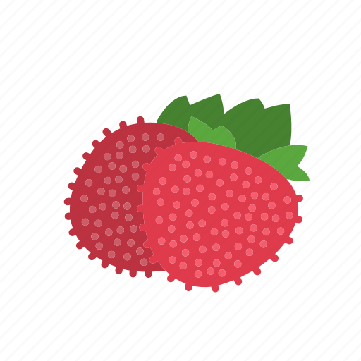 farm, food, fruit, mock strawberry, nature, organic icon