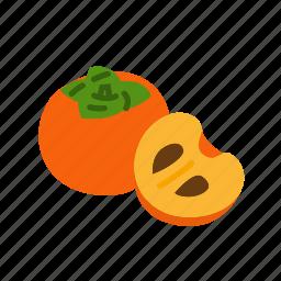farm, food, fruit, nature, organic, persimmon icon