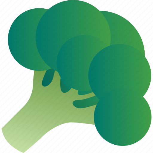 broccoli, cabbage, cauliflower, cole, healthy, vegetable, vegetarian icon