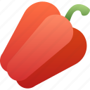 bulgarian, healthy, paprika, pepper, spice, vegetable, vegetarian icon