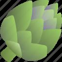 artichoke, food, greenery, healthy, vegetable, vegetarian icon