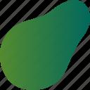 avocado, food, healthy, vegetable, vegetarian icon
