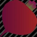 beet, beetroot, food, healthy, vegetable, vegetarian icon