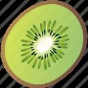 food, fruit, healthy, kiwi, vegetarian icon