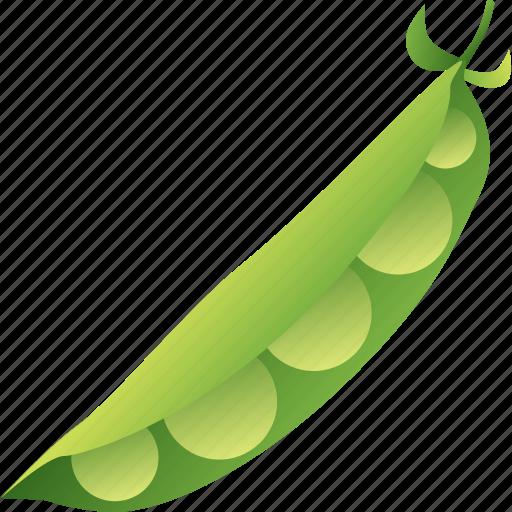beans, coal, food, leguminous, pea, peas, vegetable icon
